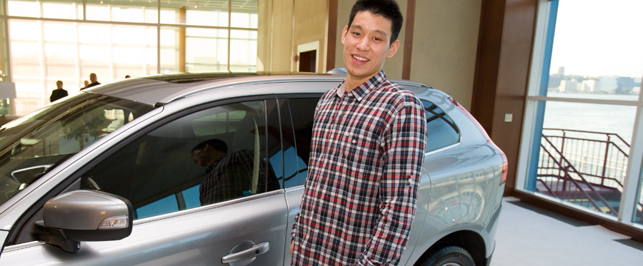 photo of Jeremy Lin Volvo - car